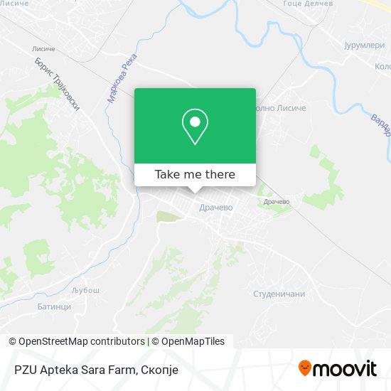 PZU Apteka Sara Farm map
