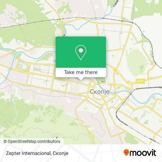 Zepter Internacional map