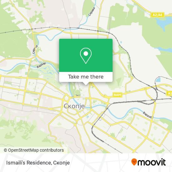 Ismaili's Residence map