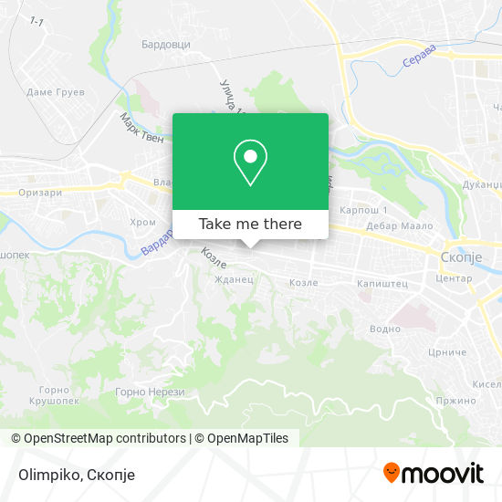 Olimpiko map
