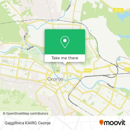 Qajgjillnica KAIRO map