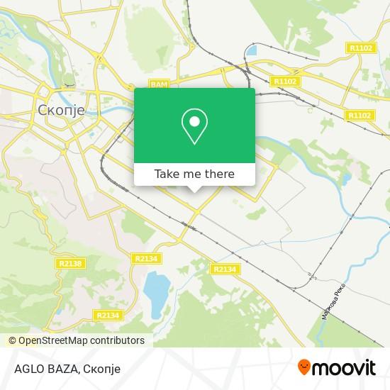 AGLO BAZA map