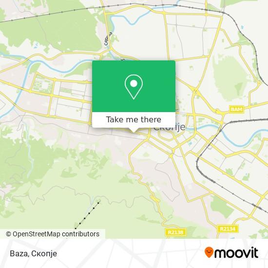 Baza map