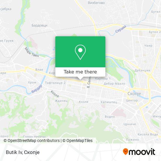 Butik Iv map