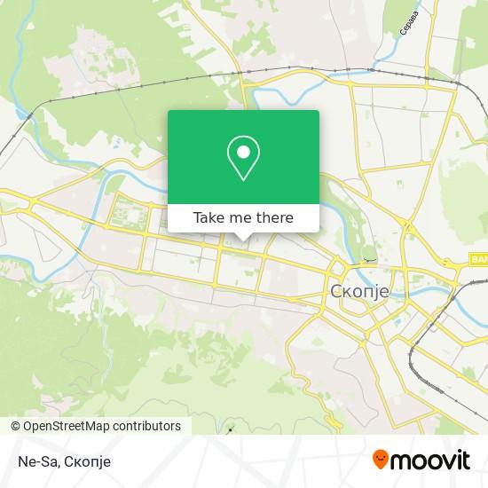 Ne-Sa map