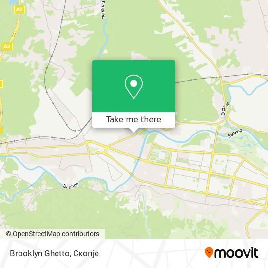 Brooklyn Ghetto map