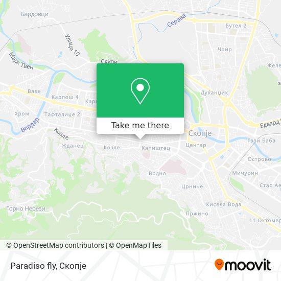Paradiso fly map