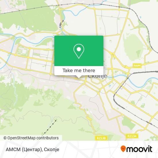 АМСМ (Центар) map