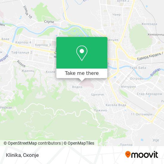 Klinika map
