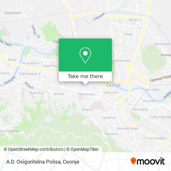 A.D. Osiguritelna Polisa map