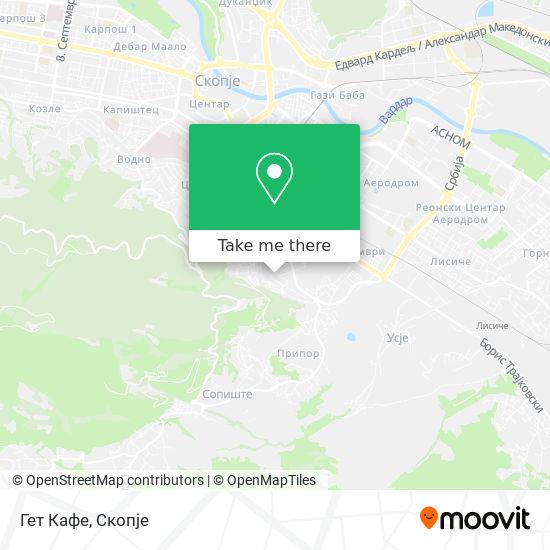 Гет Кафе map
