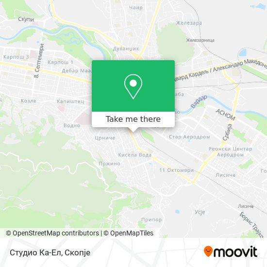 Студио Ка-Ел map