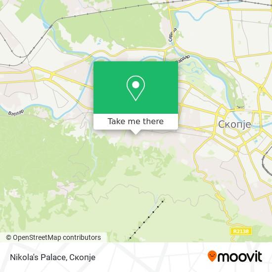 Nikola's Palace map