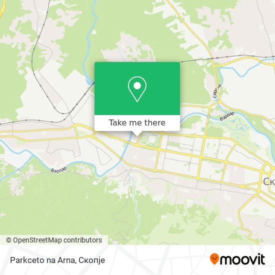 Parkceto na Arna map