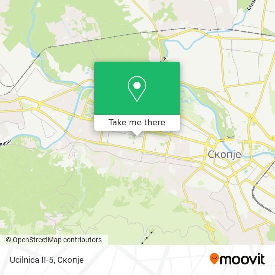 Ucilnica II-5 map