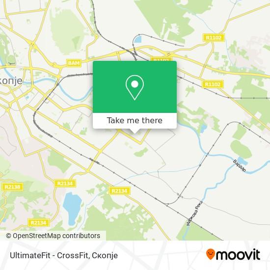UltimateFit - CrossFit map