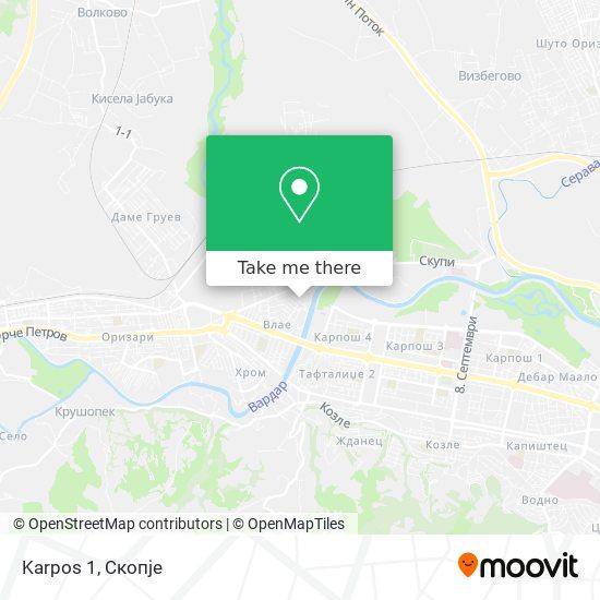 Karpos 1 map