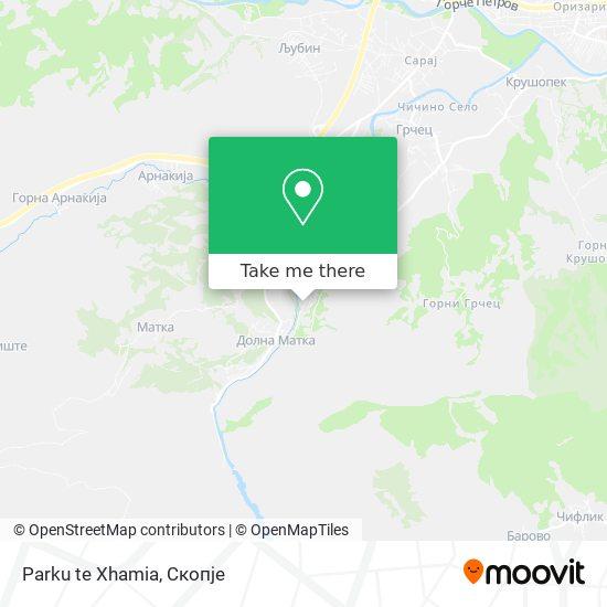 Parku te Xhamia map