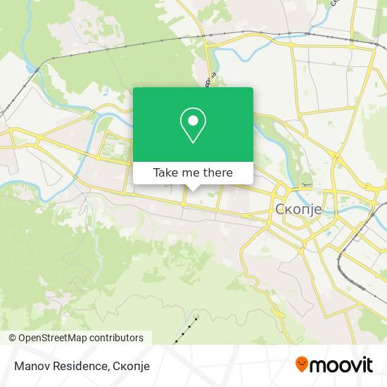 Manov Residence map