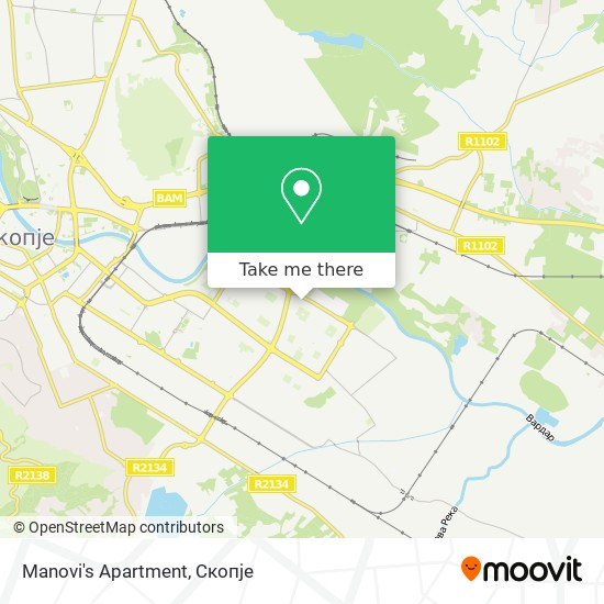 Manovi's Apartment map
