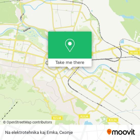 Na elektrotehnika kaj Emka map