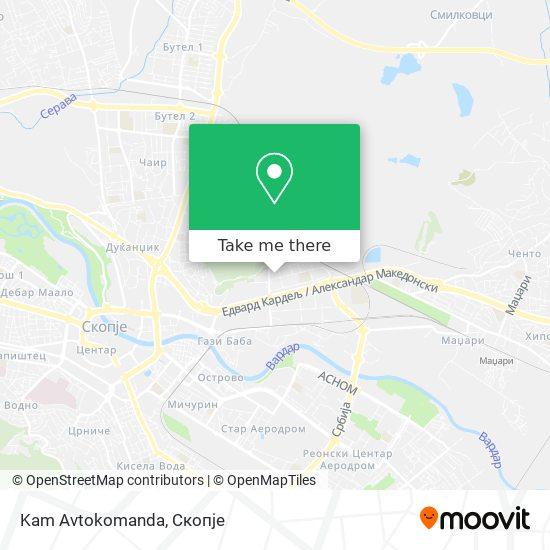Kam Avtokomanda map