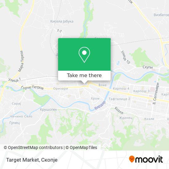 Target Market map