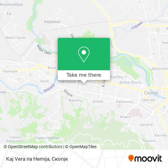 Kaj Vera na Hemija map