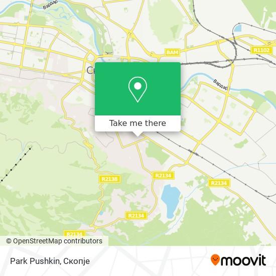 Park Pushkin map