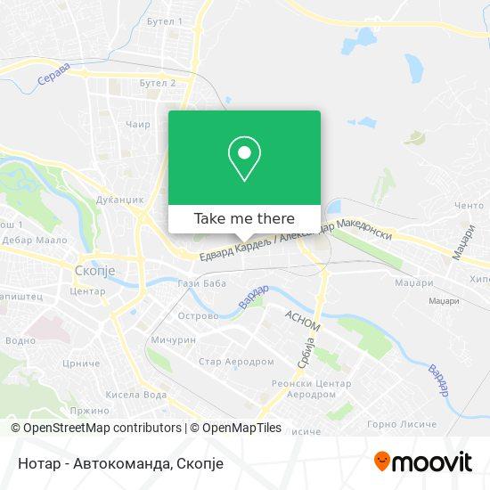 Нотар - Автокоманда map