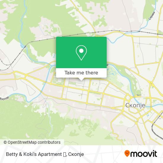 Betty & Koki's Apartment 🏢 map
