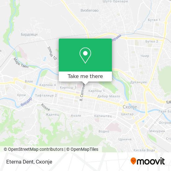 Eterna Dent map