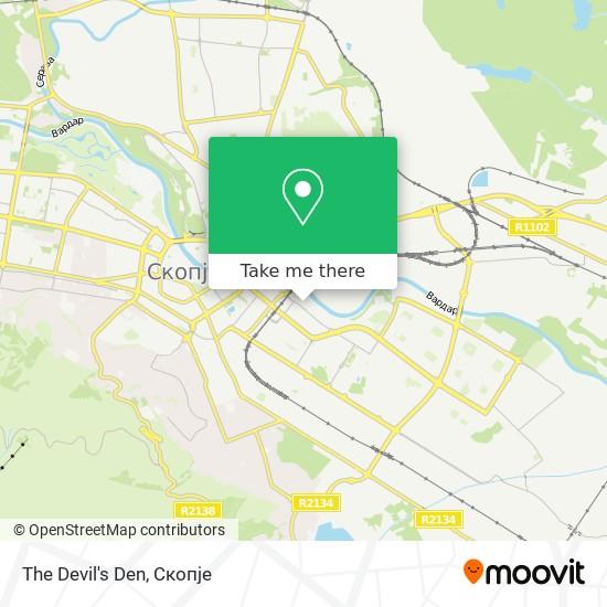 The Devil's Den map