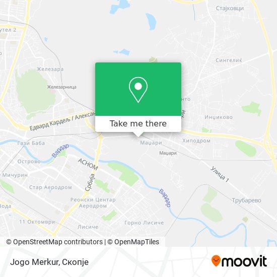 Jogo Merkur map