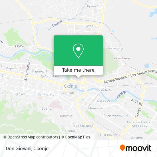 Don Giovani map