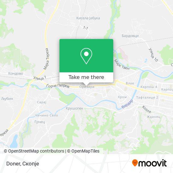 Doner map