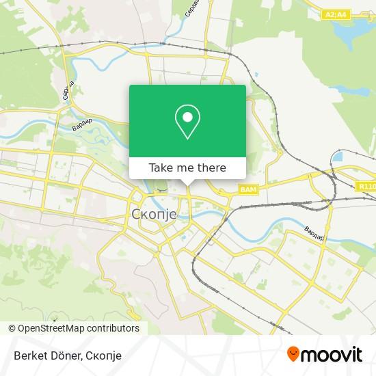 Berket Döner map