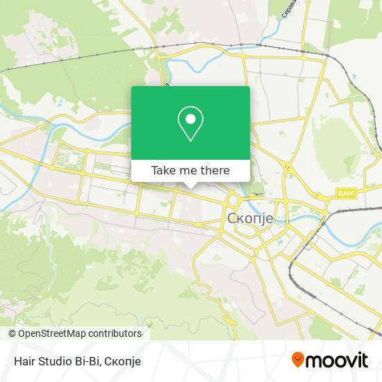 Hair Studio Bi-Bi map