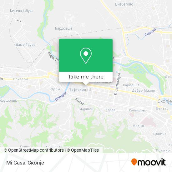 Mi Casa map