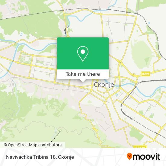 Navivachka Tribina 18 map