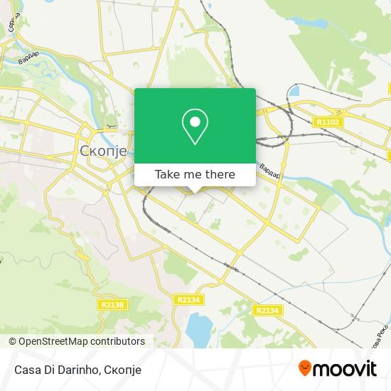 Casa Di Darinho map