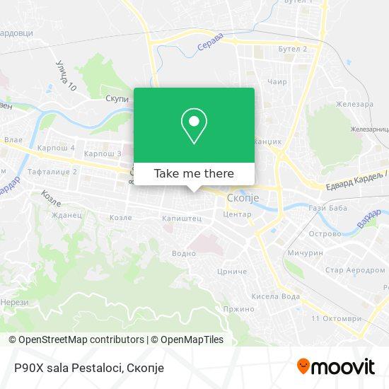 P90X sala Pestaloci map
