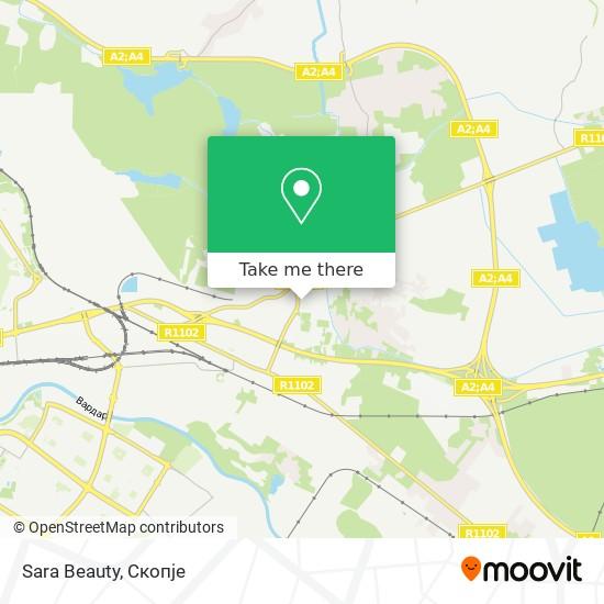 Sara Beauty map