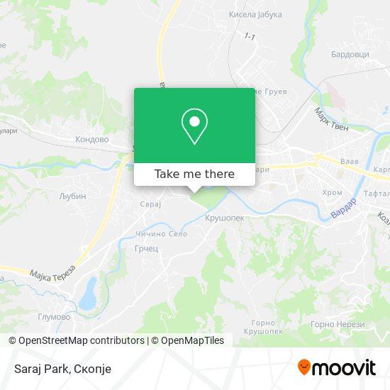 Saraj Park map