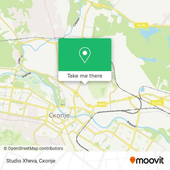 Studio Xheva map