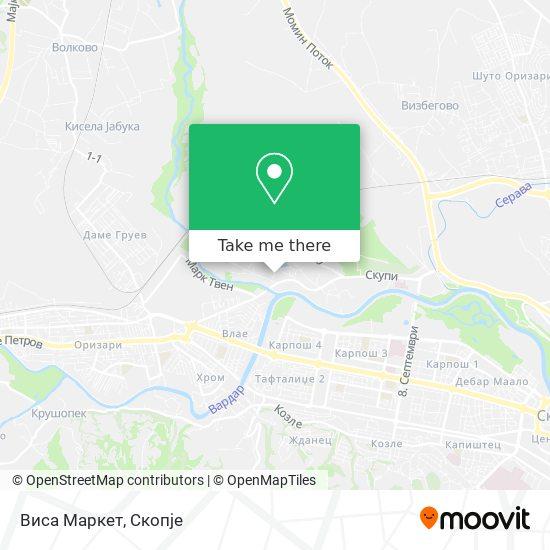 Виса Маркет map