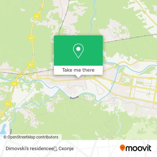 Dimovski's residencee💞 map