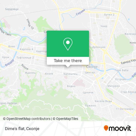 Dime's flat map