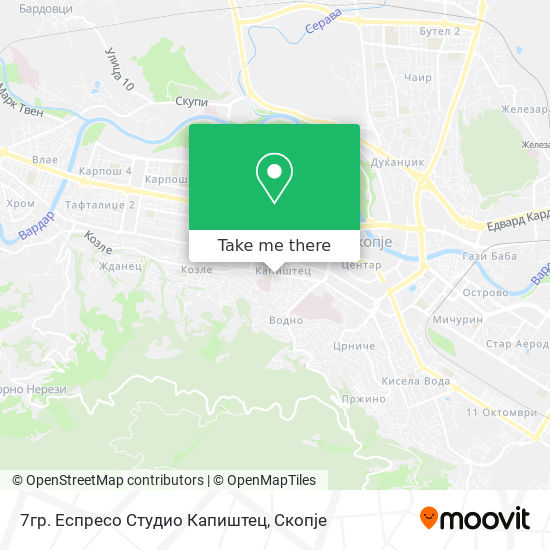 7гр. Еспресо Студио Капиштец map