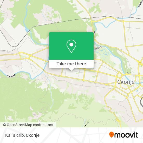 Kali's crib map